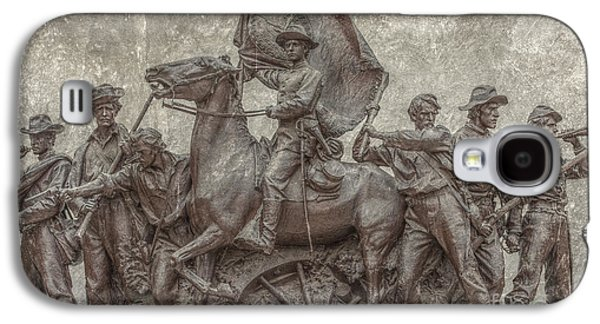 Statue Of Confederate Soldier Galaxy S4 Cases - Virginia Monument Gettysburg Battlefield Galaxy S4 Case by Randy Steele
