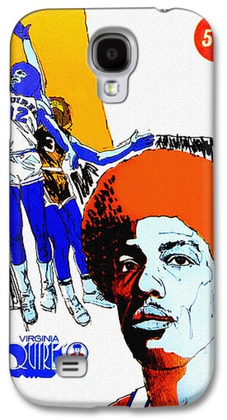 Virginia Squires Vintage Program Galaxy S4 Case by Big 88 Artworks