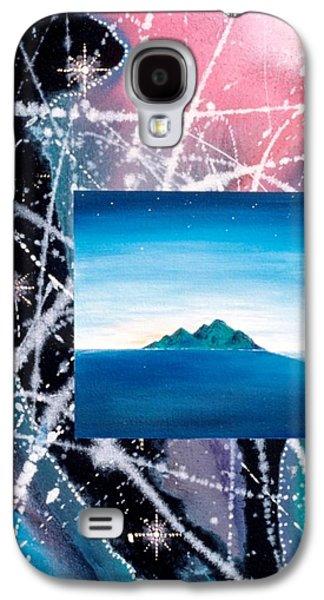 Angel Mermaids Ocean Galaxy S4 Cases - Vision of Oceania Galaxy S4 Case by Lee Pantas