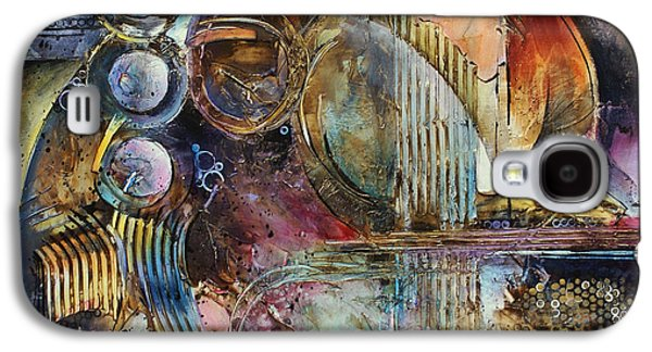 Geometric Shape Galaxy S4 Cases - Visions of Eight Galaxy S4 Case by Michael Lang