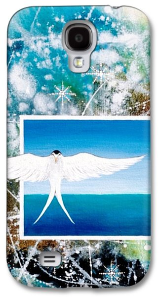 Angel Mermaids Ocean Galaxy S4 Cases - Visitor from Oceania Galaxy S4 Case by Lee Pantas