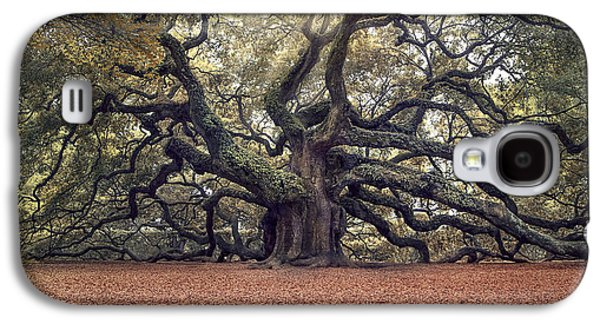 Live Oaks Galaxy S4 Cases - Voices of the Angels Galaxy S4 Case by Magda  Bognar