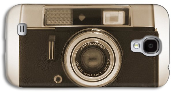35mm Galaxy S4 Cases - Voigtlander Rangefinder Camera Galaxy S4 Case by Mike McGlothlen