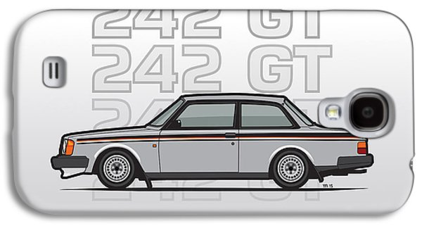 Volvo 242 Gt 200 Series Coupe Galaxy S4 Case by Monkey Crisis On Mars