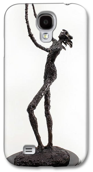 Nudes Sculptures Galaxy S4 Cases - Votary of the Rain a sculpture by Adam Long Galaxy S4 Case by Adam Long
