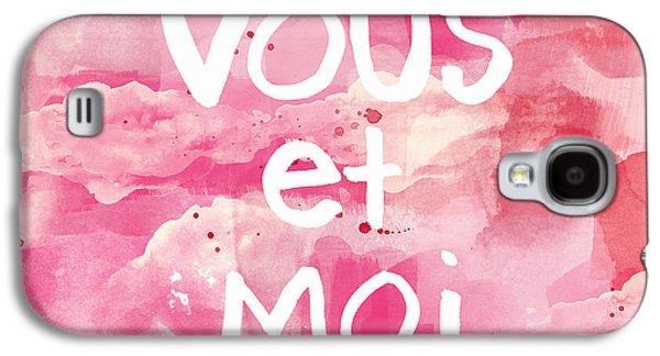 Vous Et Moi Galaxy S4 Case by Linda Woods