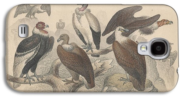 Vultures Galaxy S4 Case by Oliver Goldsmith