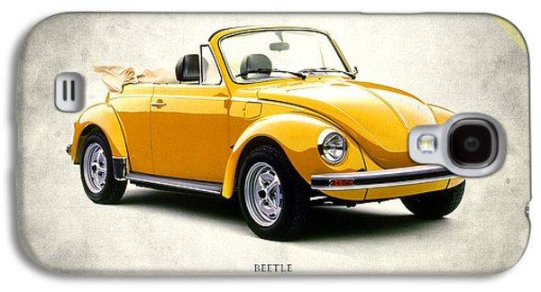 Vintage Car Photographs Galaxy S4 Cases - VW Beetle 1972 Galaxy S4 Case by Mark Rogan