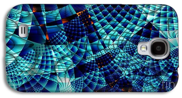 Fractal Image Galaxy S4 Cases - Waffling Galaxy S4 Case by Ron Bissett