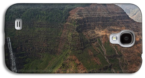 Green Galaxy S4 Cases - Waimea Falls Kauai Galaxy S4 Case by Steven Lapkin