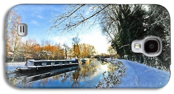 Reflections In River Galaxy S4 Cases - Waiting For Spring - Impressions Galaxy S4 Case by Gill Billington