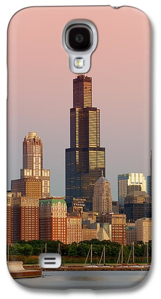 Wake Up Chicago Galaxy S4 Case by Sebastian Musial