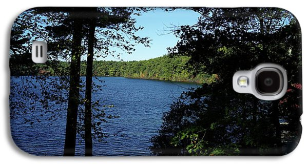 Walden Pond End Of Summer Galaxy S4 Case by Lawrence Christopher