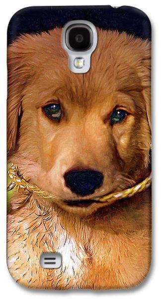 Walkies...pleeease Galaxy S4 Case by Steve Harrington