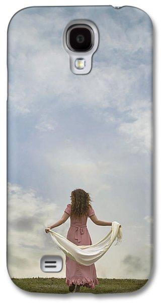 Shawl Galaxy S4 Cases - Walking Into The Sky Galaxy S4 Case by Joana Kruse