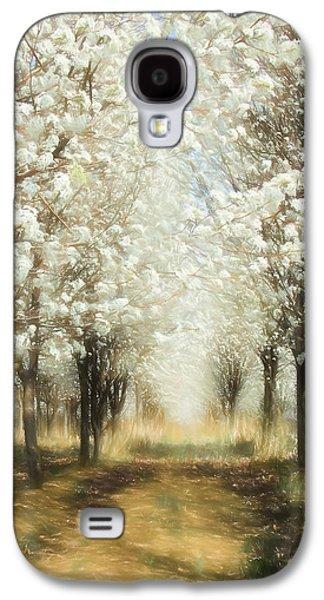Fantasy Tree Paintings Galaxy S4 Cases - Walking Through a Dream AP Galaxy S4 Case by Dan Carmichael