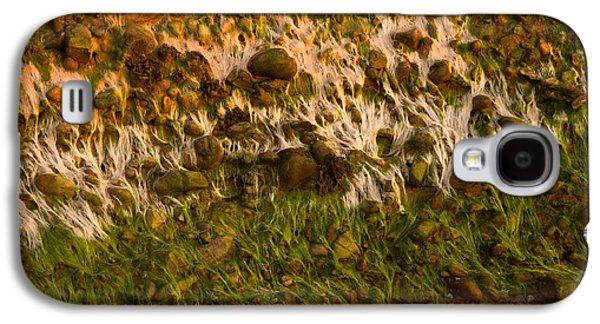 Alga Galaxy S4 Cases - Wall Of Pebbles Galaxy S4 Case by Irwin Barrett