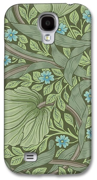 Sample Galaxy S4 Cases - Wallpaper Sample with Forget-Me-Nots Galaxy S4 Case by William Morris