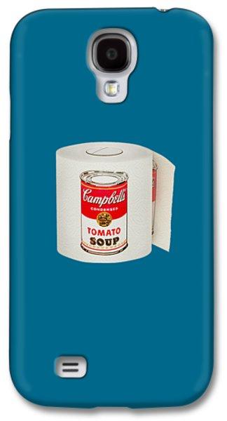 Cardboard Galaxy S4 Cases - War Roll - Poop Art Galaxy S4 Case by Nicholas Ely
