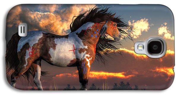 Warhorse Galaxy S4 Case by Daniel Eskridge