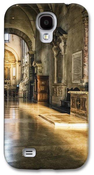 Landmarks Photographs Galaxy S4 Cases - Warm Glow Galaxy S4 Case by Joan Carroll
