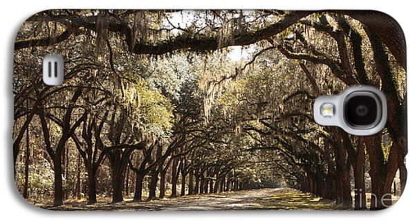 Old Country Roads Photographs Galaxy S4 Cases - Warm Southern Hospitality Galaxy S4 Case by Carol Groenen