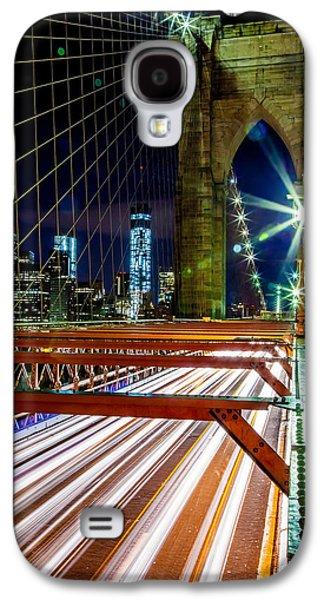 Cab Galaxy S4 Cases - Warp Speed Out Of Manhattan Galaxy S4 Case by Az Jackson