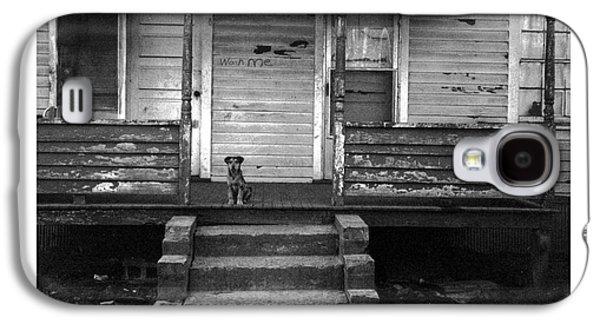 Puppy Digital Art Galaxy S4 Cases - Wash Me Galaxy S4 Case by Steve Godleski