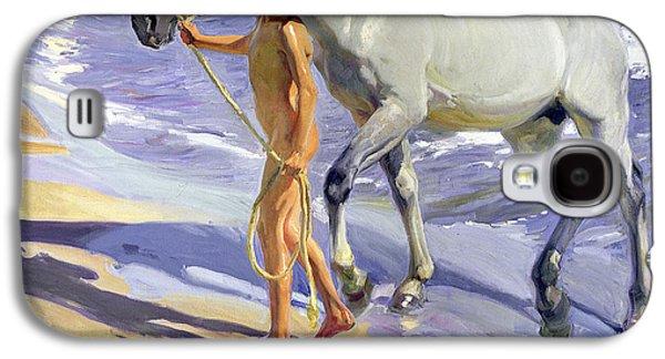 Washing The Horse Galaxy S4 Case by Joaquin Sorolla y Bastida