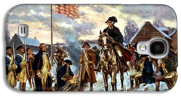 Washington At Valley Forge Galaxy S4 Case by War Is Hell Store