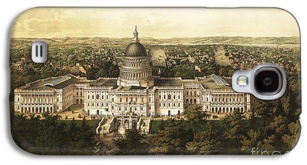 Washington City 1857 Galaxy S4 Case by Jon Neidert