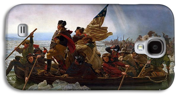 American Revolution Paintings Galaxy S4 Cases - Washington Crossing the Delaware Painting Galaxy S4 Case by War Is Hell Store