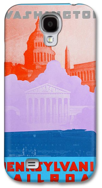 Landmarks Drawings Galaxy S4 Cases - Washington DC IV Galaxy S4 Case by David Studwell