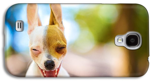 Cute Puppy Galaxy S4 Cases - Wassup? Galaxy S4 Case by TC Morgan