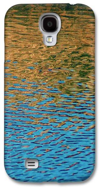 Nature Abstract Galaxy S4 Cases - Water Abstract Galaxy S4 Case by Annie Adkins