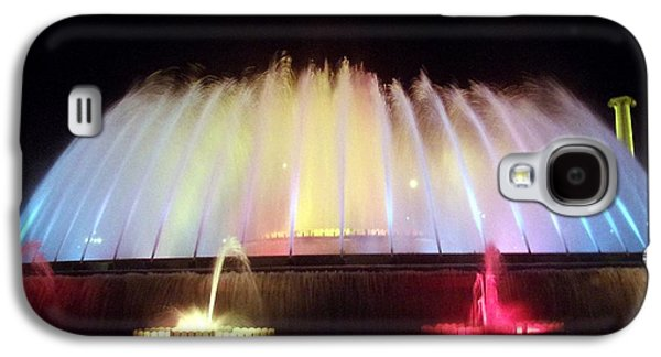 Transportation Glass Galaxy S4 Cases - Water Dome Galaxy S4 Case by Marsha Painter