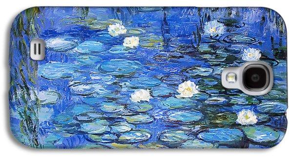 water lilies a la Monet Galaxy S4 Case by Joachim G Pinkawa