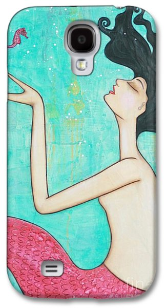 Water Nymph Galaxy S4 Case by Natalie Briney