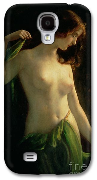 Water Nymph Galaxy S4 Case by Otto Theodor Gustav Lingner