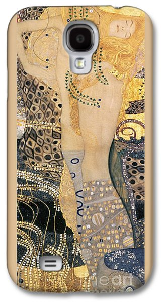 Water Serpents I Galaxy S4 Case by Gustav klimt