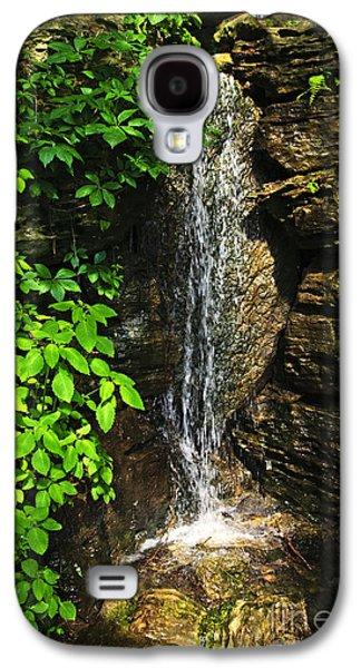 Waterfall In Forest Galaxy S4 Case by Elena Elisseeva