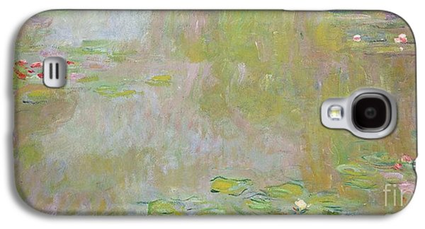 Waterlilies At Giverny Galaxy S4 Case by Claude Monet