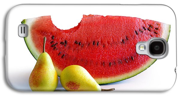 Watermelon And Pears Galaxy S4 Case by Carlos Caetano