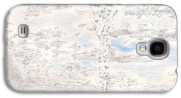Waterspout Galaxy S4 Case by Al Goldfarb