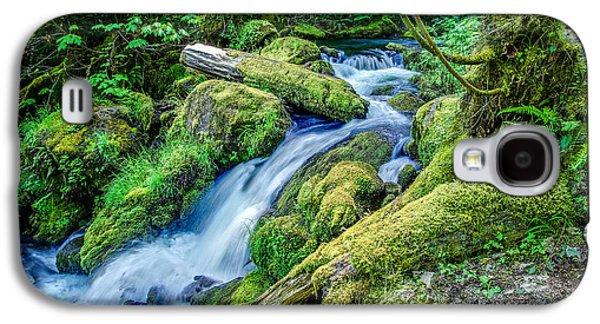 Watson Creek Falls Oregon Galaxy S4 Case by Scott McGuire