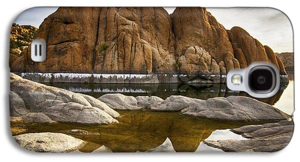 Watson Lake Arizona 11 Galaxy S4 Case by Bob Christopher