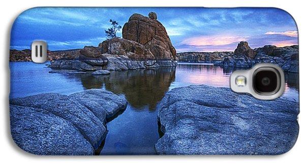 Watson Lake Arizona 4 Galaxy S4 Case by Bob Christopher