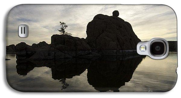 Watson Lake Arizona 6 Galaxy S4 Case by Bob Christopher