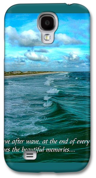 Wave After Wave Galaxy S4 Case by Julie Dant
