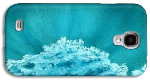 Wave Cloud - Sky And Clouds Collection Galaxy S4 Case by Anastasiya Malakhova